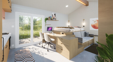 Interiérový design od Bauer Management